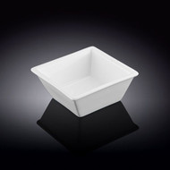 "Wilmax White Square Dip Bowl 3"" x 1.5""h"