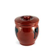 Brown Earthen Sauce Jar 18.2oz