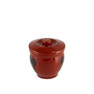 Brown Earthen Sauce Jar 6oz