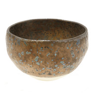 Metallic Sparkled Matcha Tea Bowl 18oz