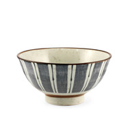 "Donburi Bowl with Lines 22.5 fl oz / 6.25"" dia"
