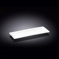 """Wilmax White Rectangular Plate 11.89"""" x 4.65"""""""