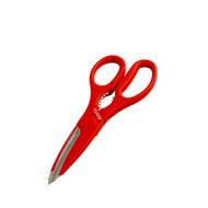 Kitchen Scissors Silky Red