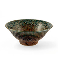 "[NEW] Ainagashi Blue Earthy Noodle Bowl 7.75"" dia"