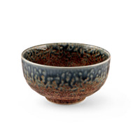 "[NEW] Ainagashi Blue Earthy Rice Bowl 5.5"" dia"