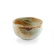 "[NEW] Yukishino Moss White Bowl 5"" dia x 2.75"" ht"