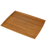 "Non-slip Brown Tray 16.5"" x 12.5"""