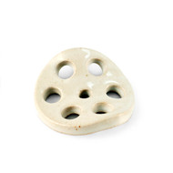 [NEW] White Glazed Lotus Root Chopstick Rest