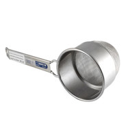 "Stainless Steel Double Mesh Tea Strainer 3"" dia"
