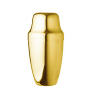 15% Off with code MTCBARWARE15 - Yukiwa Gold-Plated French Style Cocktail Shaker 500ml (17 oz)