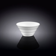 "Wilmax White Ridged Small Bowl 4"" dia"