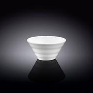 """Wilmax White Ridged Small Bowl 3.9"""" dia"""