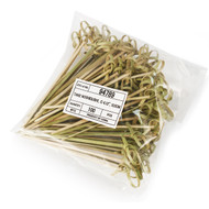 "4"" Knotted Bamboo Skewers (100/pack)"