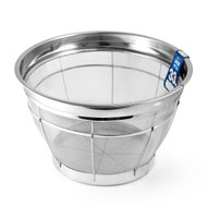 "Stainless Heavy Duty Rice Colander 13"" dia"