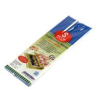 "Super Hygienic Plastic Non-Stick Half Sushi Rolling Mat (Makisu) 10"" x 6.5"""