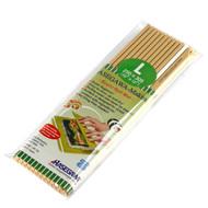 "Super Hygienic Plastic Non-Stick Sushi Rolling Mat (Makisu) 12"" x 10"""