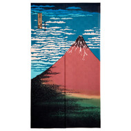 [NEW] Noren Curtain with Mt. Fuji
