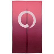 [NEW] Noren Curtain with Circle Design & Gradient Color
