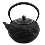 Nanbu Tetsubin Japanese Cast Iron Kettle Teapot 67 oz with Arare Textured