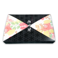 "Tsubaki Take Out Paper Bento Box 10.75"" x 7"" (50/pack) (*inside tray sold separately)"