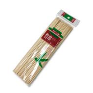 "Bamboo Skewers (100/pack) 8"" x 0.1"" dia"