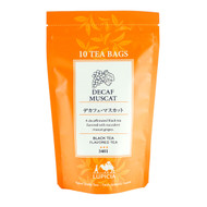 Lupicia Decaf Black Tea Muscat Flavored 10 Tea Bags