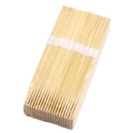 "9 1/2"" Disposable Square Tip Bamboo Chopsticks Bundled (100 pairs/pack)"