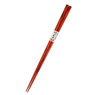 Birch Dark Red Slim Tip Chopsticks