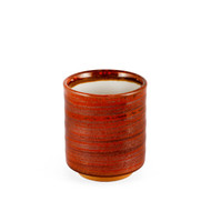 15% OFF with code MTCMATCHA15 - [NEW] Red Brushstroke Tea Cup