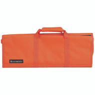 Messermeister Orange 12 Pocket Padded Knife Bag