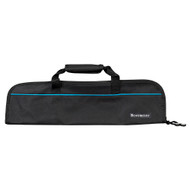 Messermeister Black 5 Pocket Padded Knife Roll Bag