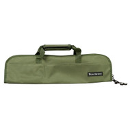 Messermeister Khaki 5 Pocket Padded Knife Roll Bag