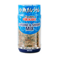 Urashima Furikake Sardine and Shrimp Mix (Kozakana Mix) 2.1oz / 60g