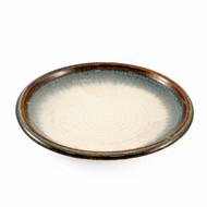 "[NEW] Kinyo Sabi Rimmed Side Plate 5.67"" dia"