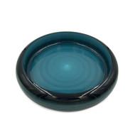 "Cobalt Marble Sushi Serving Tray (Sushi Oke) 10"" dia"