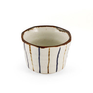 "[NEW] Striped Kobachi Bowl 2.95"" dia"