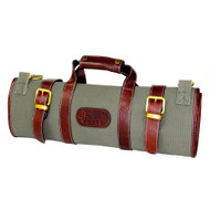 Boldric 17-Pocket Khaki Canvas Roll Knife Bag