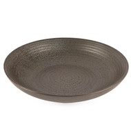 "[NEW] Black Speckled Serving Bowl 30 fl oz / 9"" dia"