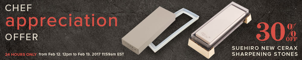 30% off New Cerax Sharpening Stones