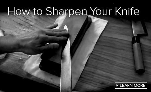 How to sharpen your knife