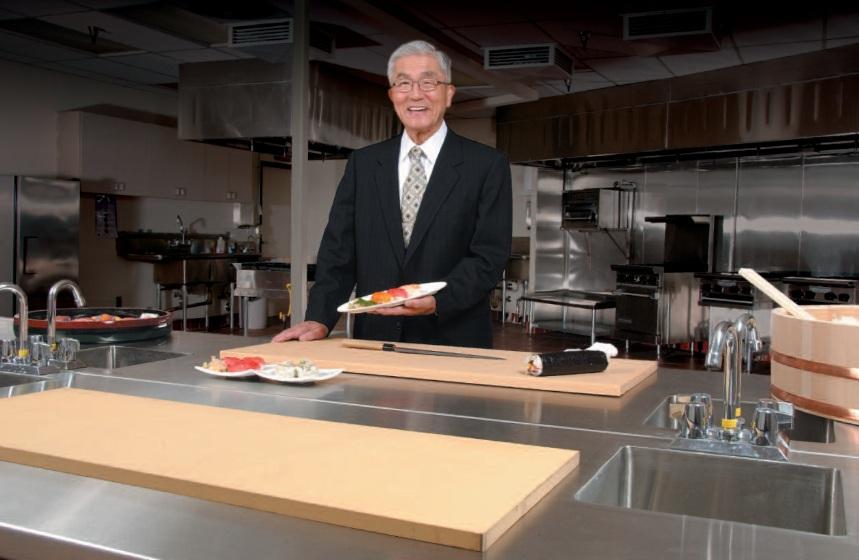 Greetings from chairman Kanai