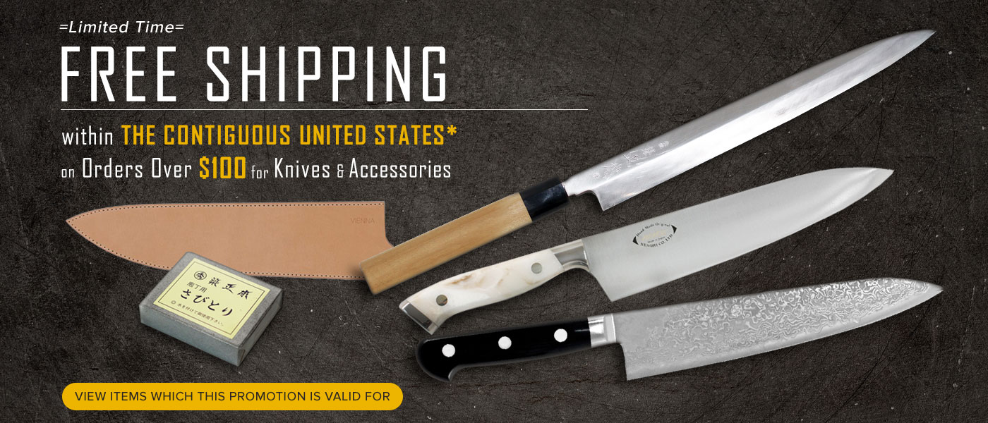 Free Shipping to US on Knives Order Over $100