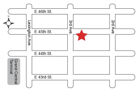 MTC Kitchen Store Map