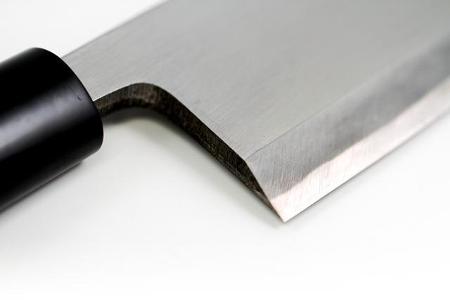 Japanese style knife