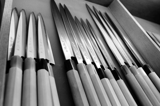 Tsukiji Masamoto knives