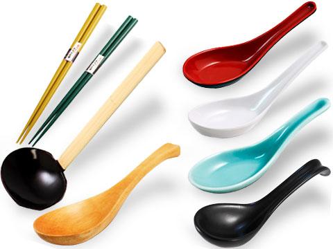 Ramen Spoons & Chopsticks