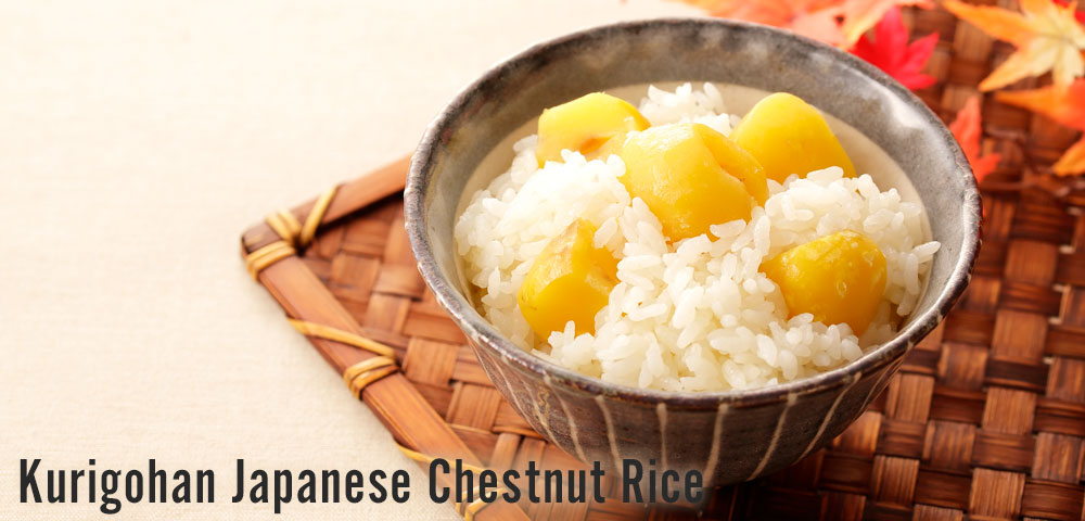 Cook Kurigohan-Japanese Chestnut Rice with Zojirushi Rice Cookers