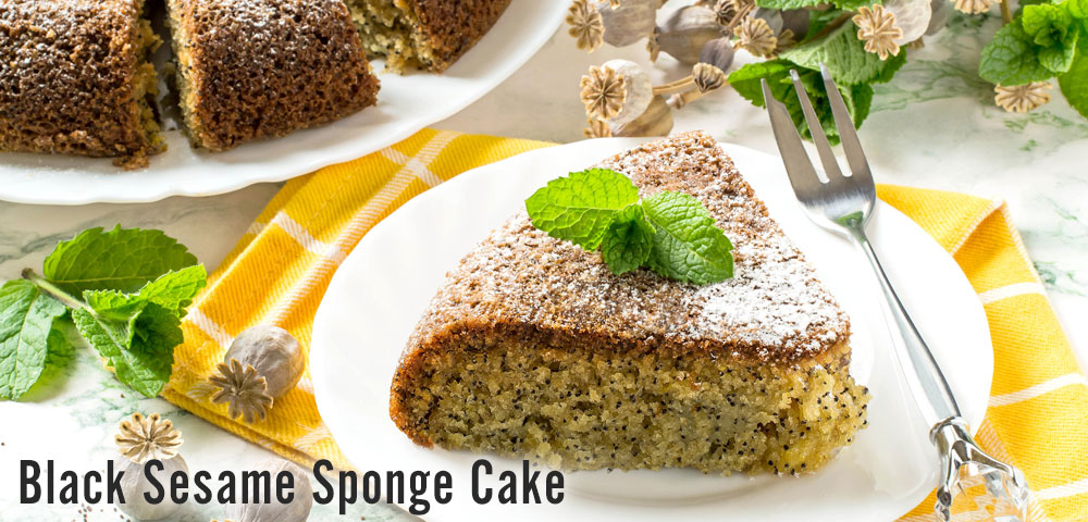 Baking Black Sesame Cake with Zojirushi Rice Cookers