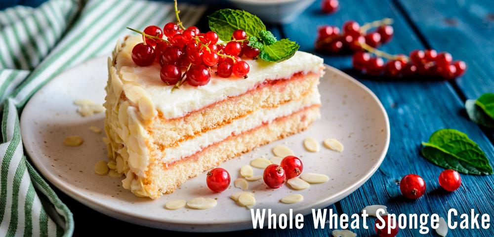 Recipe - Whole Wheat Sponge Cake