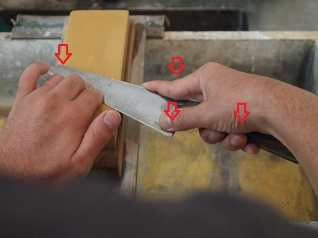 Quick tips for sharpening
